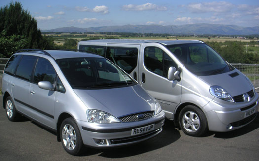 Airport transfer mini buses